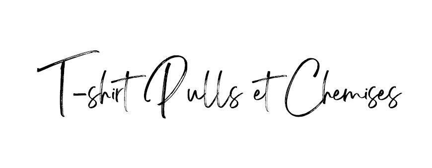 T-shirts et Pulls